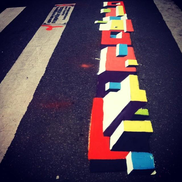 #Bands #artenafaixa #artistasurbanos #StreetArt #streetartrio