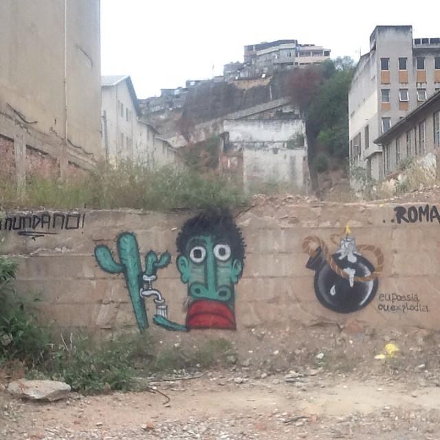 Conexão da arte! Mundano e Roma. RioxSP. @mundano_sp #ilovebombing #streetartrio #street #art #brazil #graffiti #riodejaneiro #rj #instagraffiti #graffiti #graffite #artederua #art #artist #urbanart #graffitibrazil #graffitebrazil #streetart #freestyle #graffitirj #graffrio #rua #romastreetart