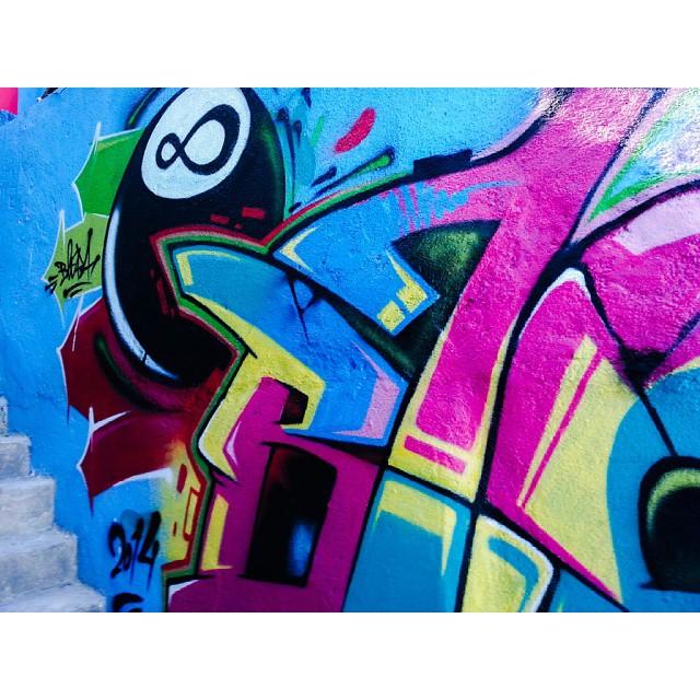 Detail | #CaminhoDoGraffiti #8Ball