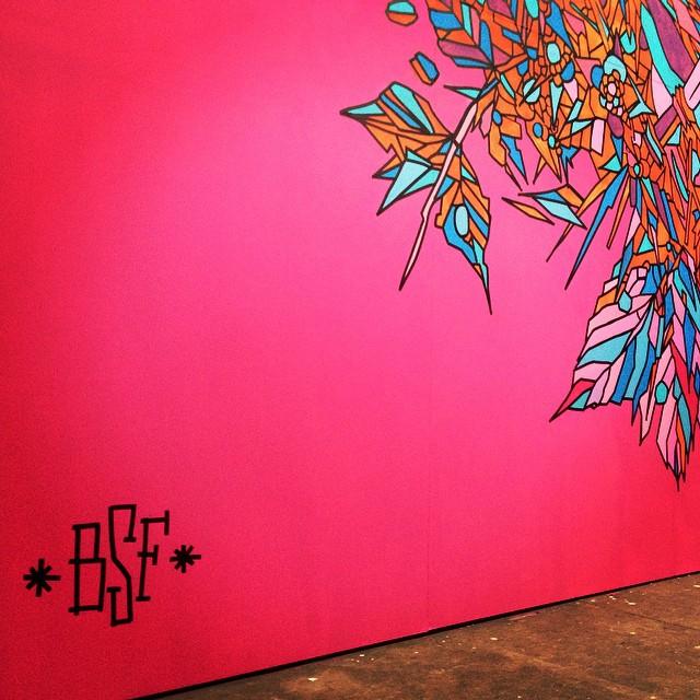 Detalhe do mural do @bicicletasemfreio no ArtRua! #streetartrio #goiania #arteurbana #rio #artrua