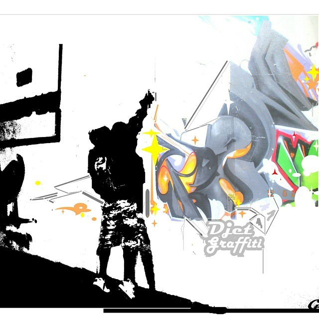Digitalizando. ..  #gloye #graffiti #streetart #streetartrio #detail #collors #spray #art #texture #letters