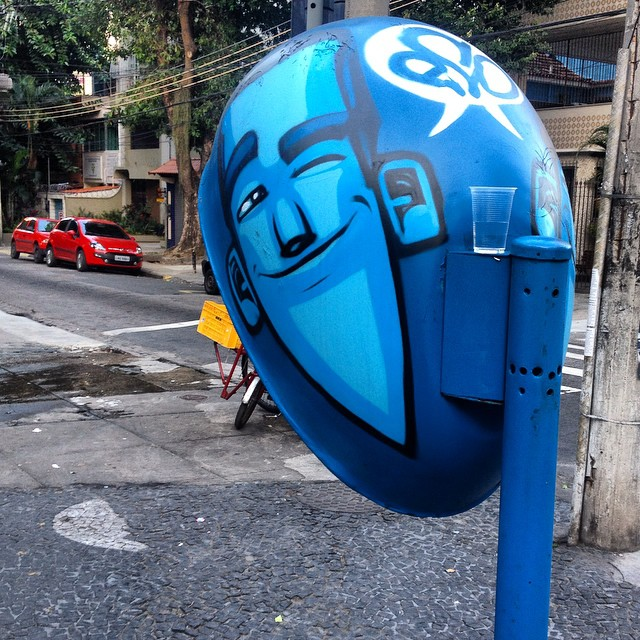 Eco no grajamaica.  #streetartrio #grafitti