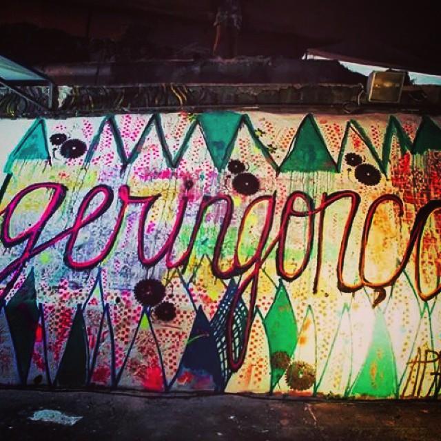 Graffiti no Projeto Geringonça do SESC Tijuca. #streetart #spray #paint #brazil #streetartrio #compartilhearte