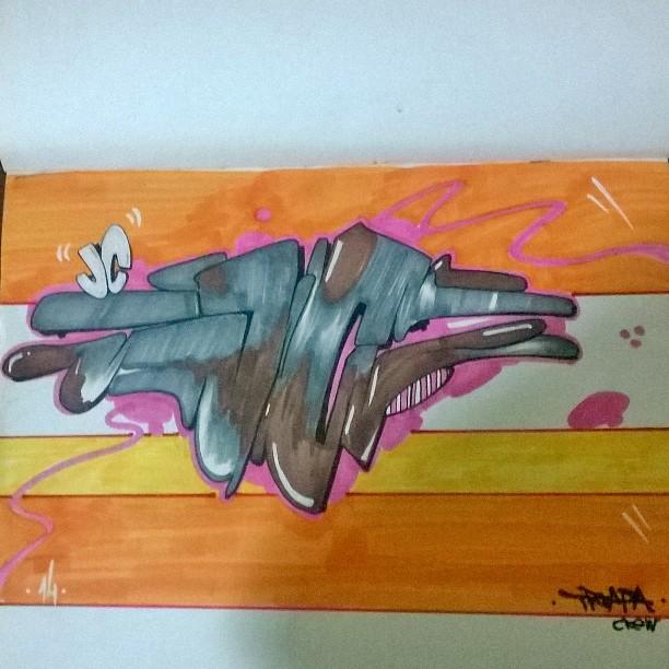 JC blackbook! #instaart #spray #riodejaneiro #rj #instagraffiti #graffiti #graffite #artederua #art #artist #urbanart #graffitibrazil #graffitebrazil #loveart #spraypaint #streetart #freestyle #graffitirj #graffrio #rua #mtn #hiphop #streetartrio #ruasdazn #trapacrew #tafaltandomuro