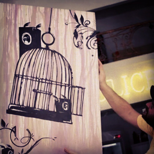 Liberte a sonoridade ... 1,20 x 80 cm #artoftheday #aquarela #biveselecta #bives #bivesdigital #canvas #draw #desenho #expo #concept #elninhocrew #eufechocomreggae #fineart #graffitirio #ilustration #paint #streetartrio #urbandraw