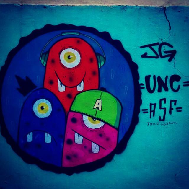 Mais um pra conta!!! #ASF #Galerio # #streetartrio #Graffit #UNC #UniaoNacionalCrew