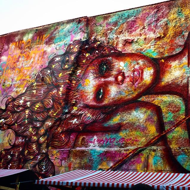 Mira o muro #riodejaneiro #artrio #graffitiart