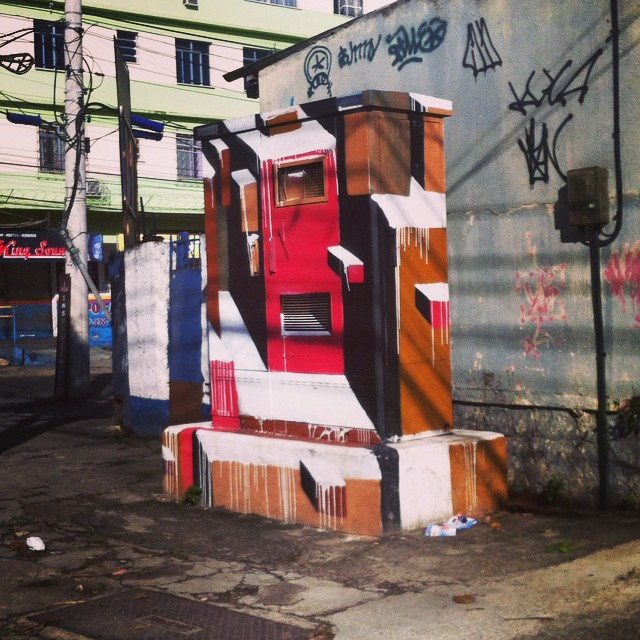 #MonolitoUrbano #Bands #StreetArt #streetartrio #ruasdazn #galerio