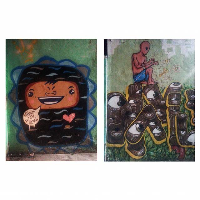 No caminho da coxinha. #dagema #grafite #grafiterj #pixo #art #streetart #miguel #arte #rua #tijuca #coxinha #salgado