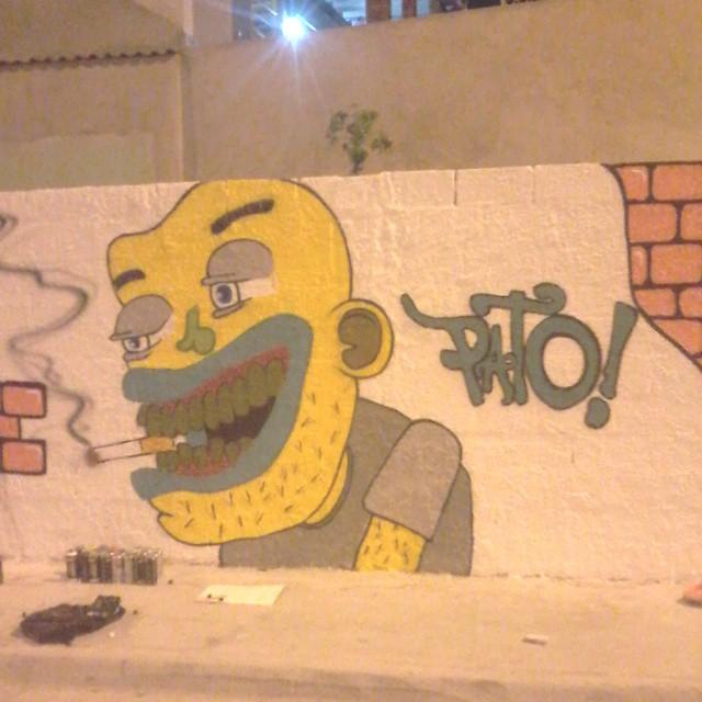 Puro visual ! #ruasdazn #streetartrio #pato #graffitiart