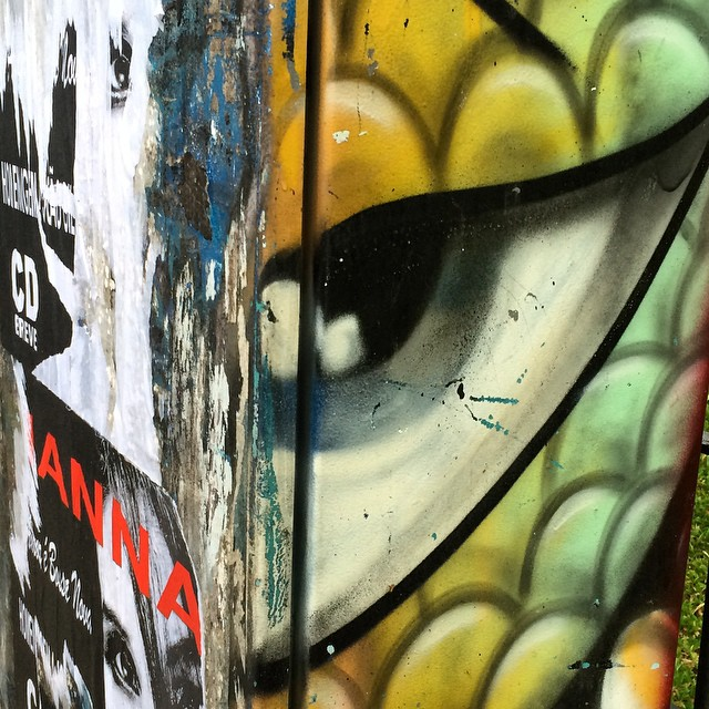 The all seeing eye #streetartleblon
