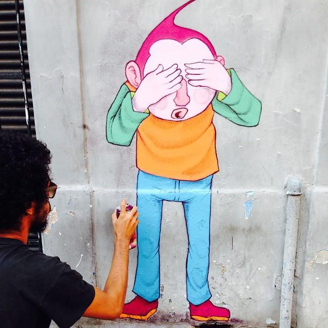 Traço mais fino  @jotazer0ff #streetartrio #streetart #streetarteverywhere #graff #graffiti #siqueiracampos #copacabana