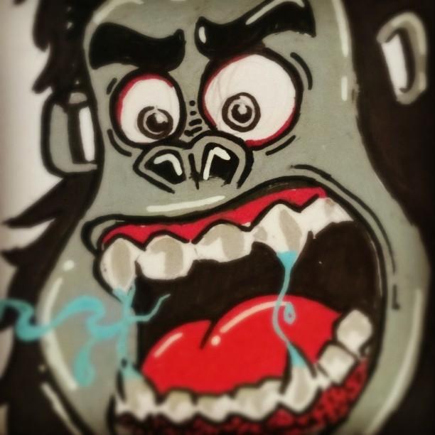 Vai pro muro! #posca #errejota #grafitti #streetartrio #sharpie