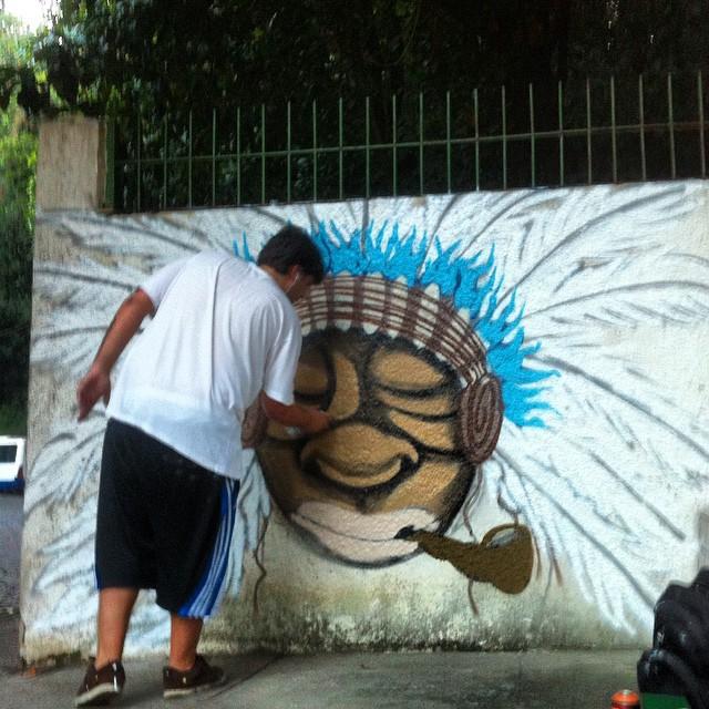 #graffiti #altoleblon #streetart #streetartrio