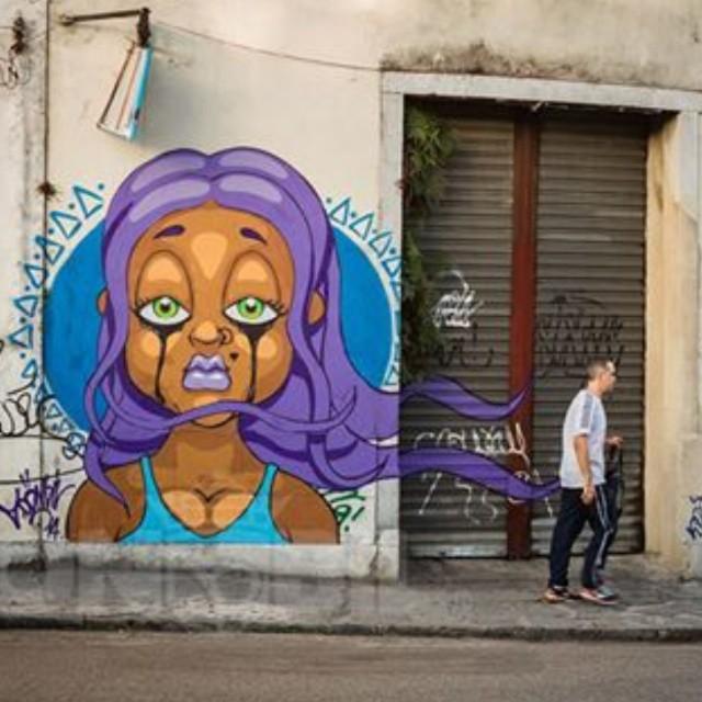#graffiti #streetartrio #sonbil #tapu #instagrafite #art #keepcrying #brasil #rio #ruasdazn #saocristovao Role ontem em sao cricri...