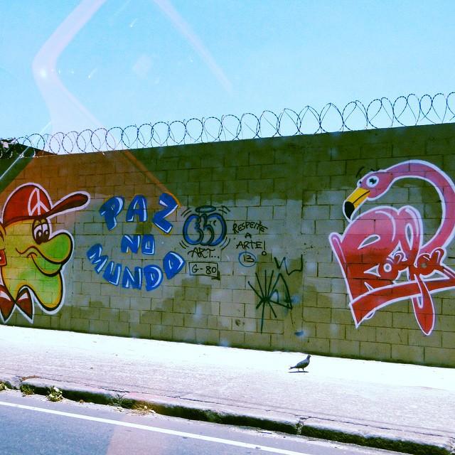 #pazmundo #artederua #pichação #pichaçãorio #pixaçãorj #pixobr #graffiti #streetart #streetartrio #graffitirio #urbanarte #graffeurs #tag #taggers #pixador