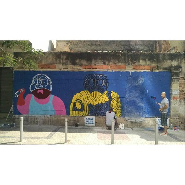 #piratasurbanos #muchooamor #efixis #fabiobirita #cazesawaya #streetartandgraffiti #streetcomics #streetart #streetartrio
