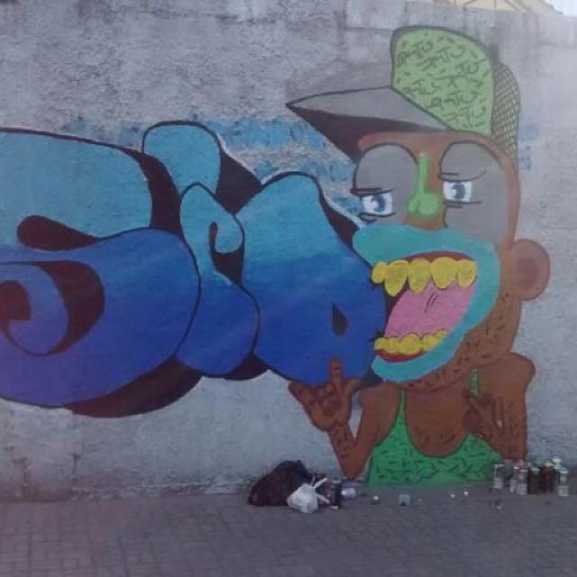 #ruasdazn #streetartrio #pato #graffitiart #arturbana