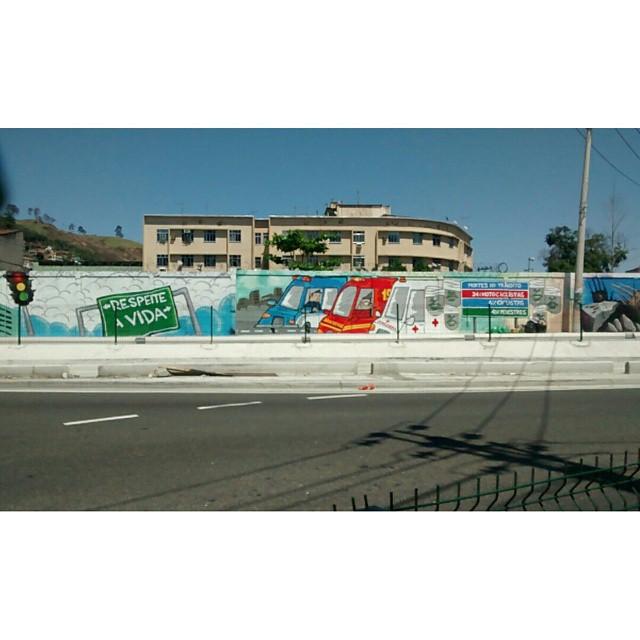 #semananacionaldotransito #graffiti #streetartrio