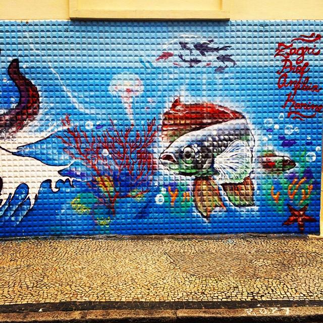 #streetart # #streetartrio #arterua #arteruario