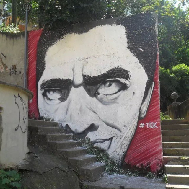 #tick #streetartrio #riodejaneiro #myface #bigface #meurosto #artederua #selfportrait #mtn. #mtn94