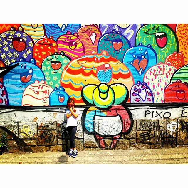 Adoramos o #shimu!!! #reference #graffiti #hípica @tozfbc #bebeidoso & #liderdacrew #mm #ninabailarina #idolnostyle #streetstyle #artcollective @idolnoproject  #artederua #arteurbana #streetart #streetartrio