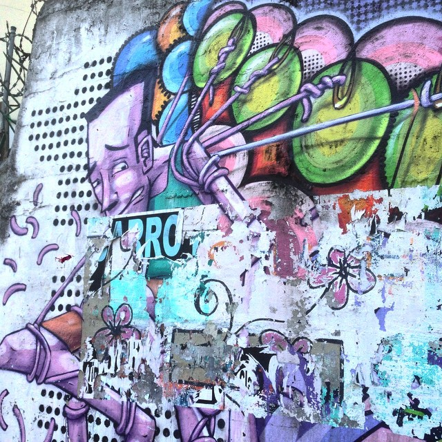 Art by @marceloeco #graffiti #marceloeco #streetart #streetartrio #urbanart #nofilter #tijuca #riodejanerio #brazil