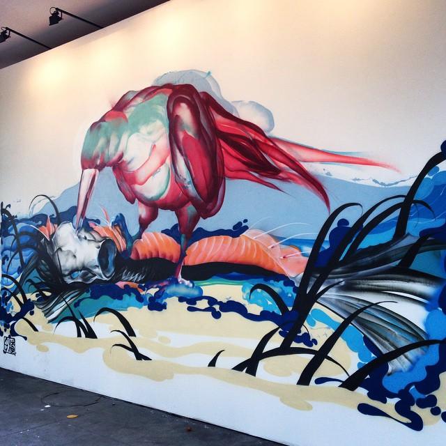 Artista @titifreak no #ArteCore #riopostcard #graffiti #graffitiart #grafitistreet #instagrafite #art #artederua #artebrasil #arteurbana #achadosdasemana