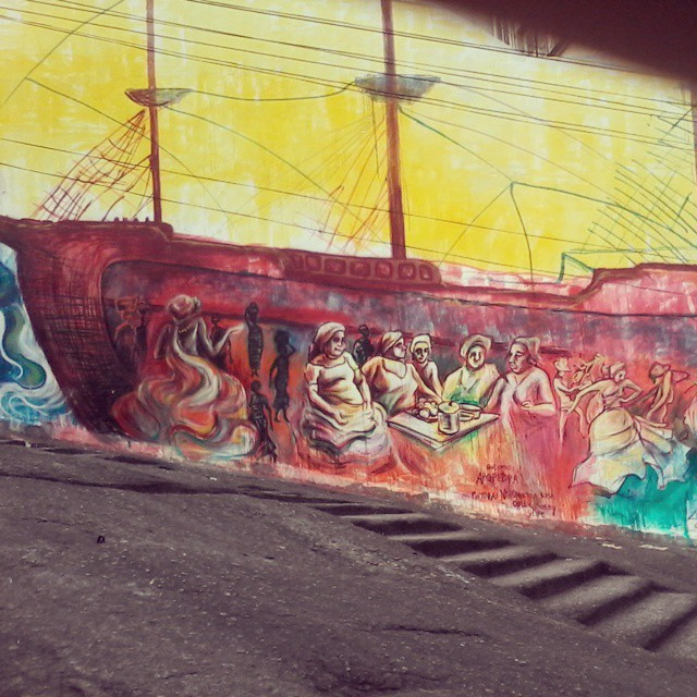Artista Vanessa Rosa e Zona Imaginaria #streetartrio