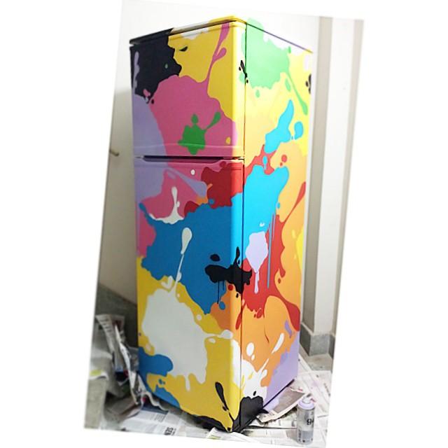 Batalha das cores  #streetart #streetartrio #detail #color #spray #art #texture #gloye #tags # #fridge #graffitibrazil #colorjet #sprayart #spraypaint #design #abstract #collors
