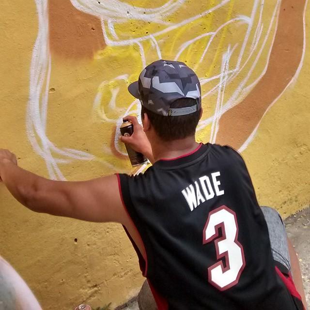 Cobrindo! #ruasdazn #pato #streetartrio #arturbana