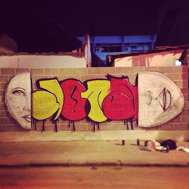 Com @pedrongomes #graffiti #bomb #ilovebombing #graffitiart #streetartrio #tagsandthrows #jota #png #55 #throwups