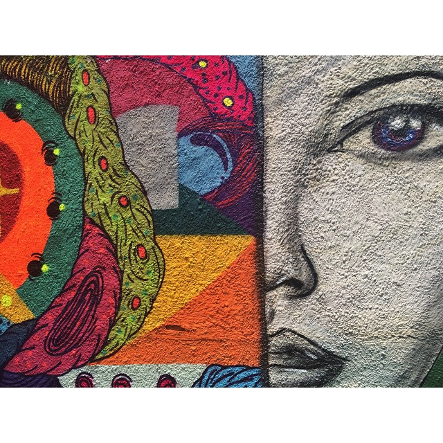 Detalhe  • Cosme Velho - RJ • @leiga_ #streetartrio #instagrafite #pngone #graffitiart
