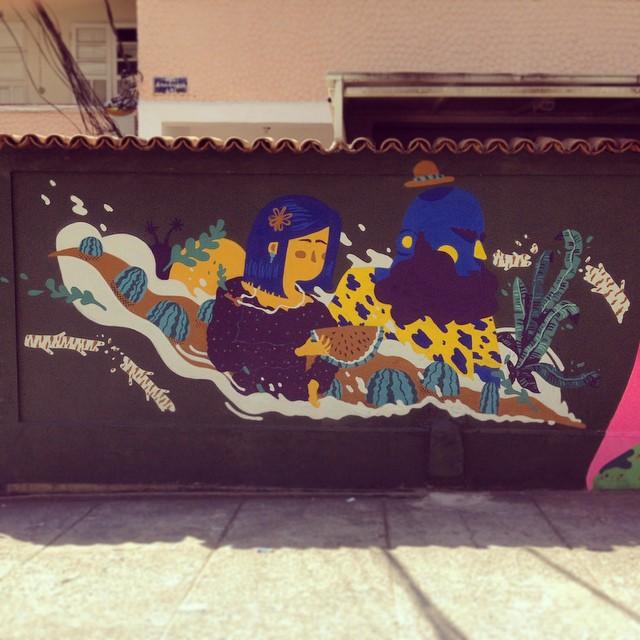 Dia de feira. #NRVO #carvas #viniciuscarvas #fresh #freguesia #riodejaneiro #brasil #graffiti #graffititropical #tropical #colors #streetartrio