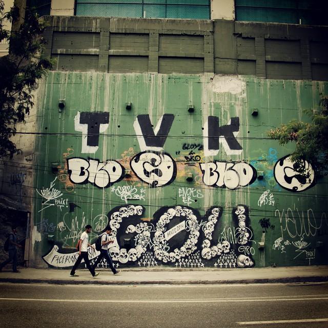 GOL! #StreetArtRio #EmersonAgulha #TVK