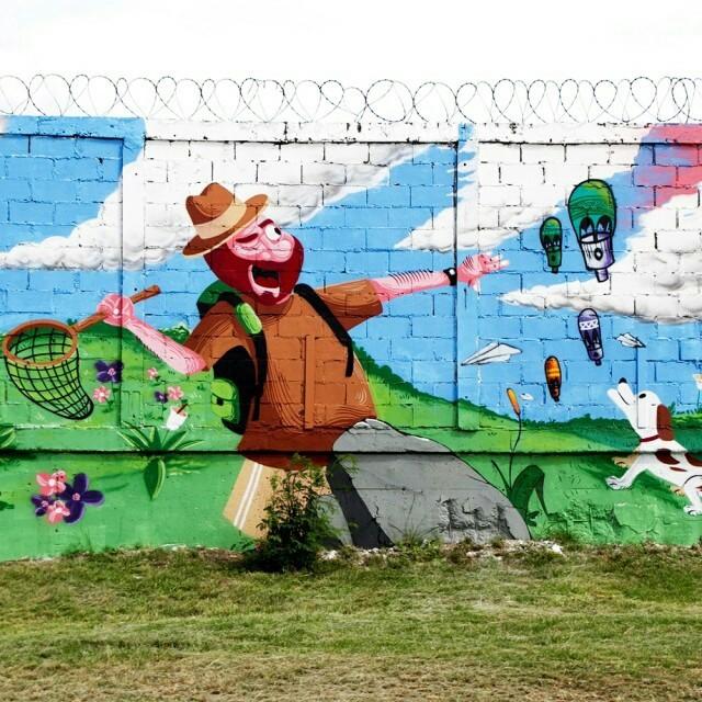 GaleRio   Colégio   @cazesawaya #graffiti #streetartrio #galerio
