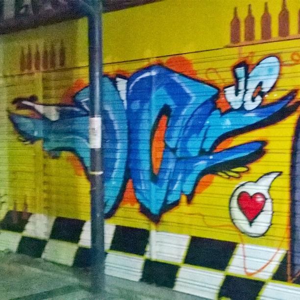 JC kilocal !!! #instaart #spray #riodejaneiro #rj #instagraffiti #graffiti #graffite #artederua #art #artist #urbanart #graffitibrazil #graffitebrazil #loveart #spraypaint #streetart #freestyle #graffitirj #graffrio #rua #mtn #hiphop #streetartrio #ruasdazn #trapacrew #tafaltandomuro