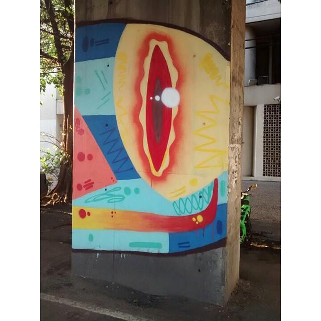 #Kaduori #streetartrio #streetart #graffiti #grafites #paint #colours #