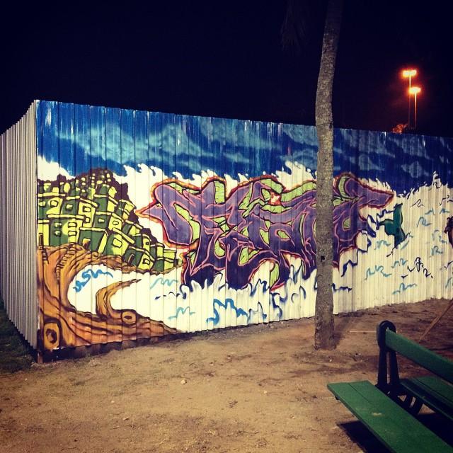 Leblon RJ #frutodafavela #graffiti #tujaviu #streetartrio