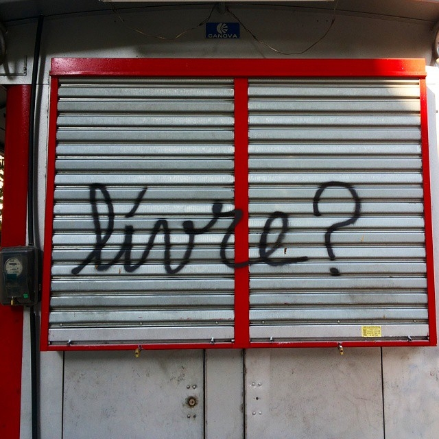 Ninguém. #streetart #streetartrio #grafitti #grafite #graffiti #pixo #livre #ninguem