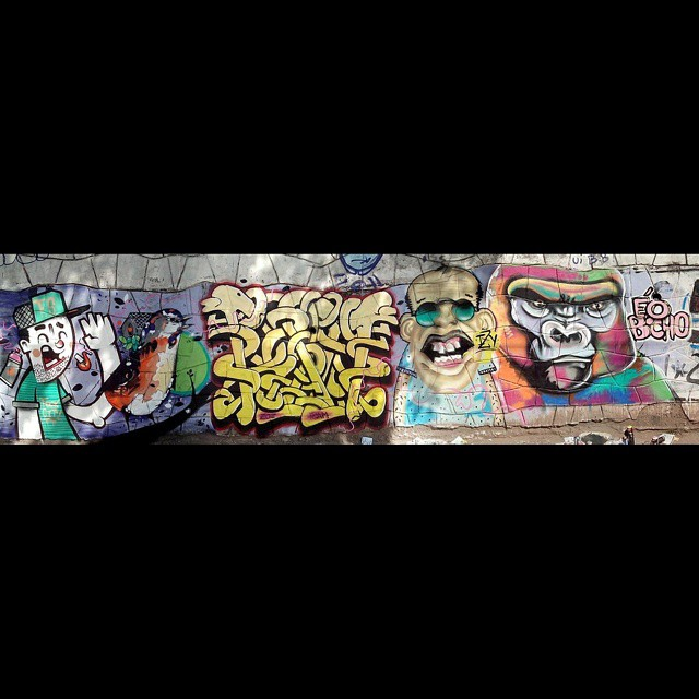 Painel em Deodoro Romário Lima * Tigo * Ram * Izy * éobicho #arteurbana #arte #art #brasil #color #colours #draw #graff #graffiti #lifestyle #pintura #painel #ram #streetartrio #street #streetart #tag #urban #urbanart #ruasdazn
