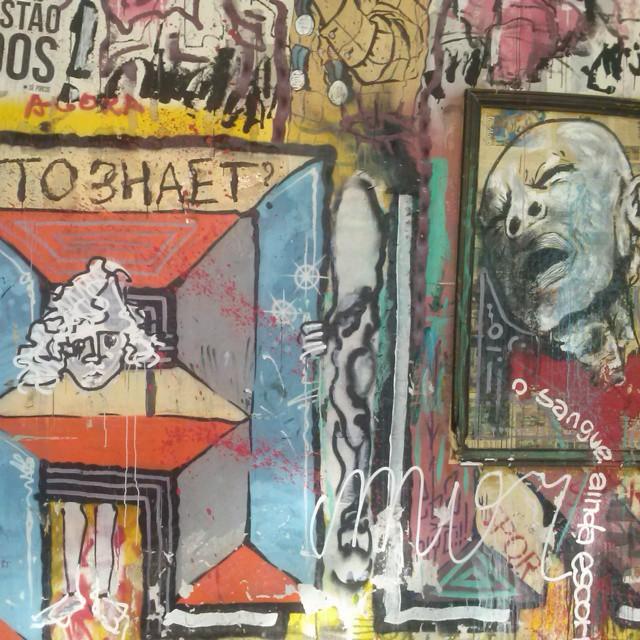 Reitoria reitoriando #StreetArtRio