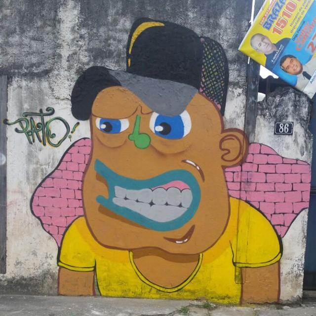 Resultado final , puro visual ! RAMOS #ruasdazn #graffitiart #pato #arturbana #streetartrio