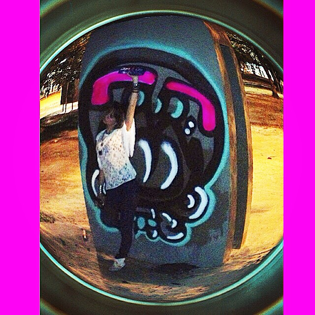 Rolé com @galeriaaceuaberto & @marygirlstyle #djonereal #graffiti #streetartrio #streetart #lagoa