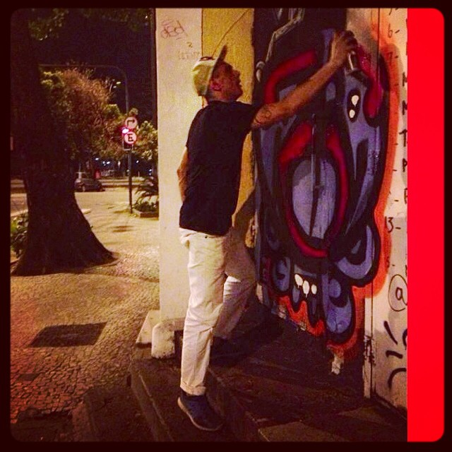 Rolé na Lagoa #djonereal #photo @marygirlstyle #action #graffiti #streetartrio #streetart