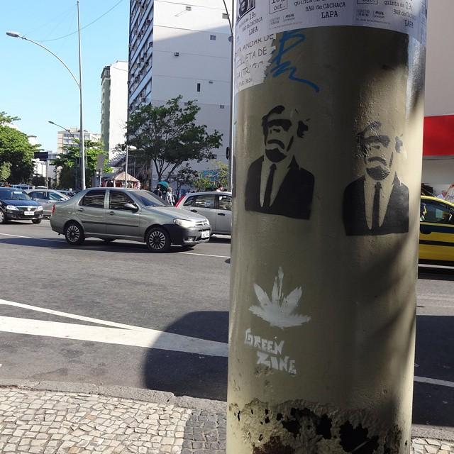 Stencil art by @natafamilia . #natafamilia #stencilart #stencil #intervençãourbana #sprayart #urbanart #arteurbana #streetart #artederua #streetartrio #riostreetart #riodejaneiro