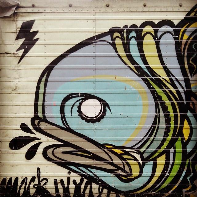 #StreetArtRio #streetart #peixe #fish #riodejaneiro #spray #graffiti #truck