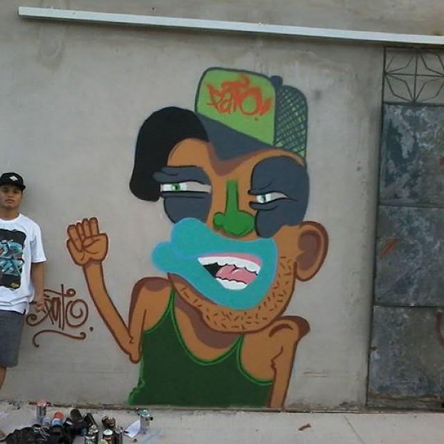 Vaivendo! #ruasdazn #graffitiart #pato #streetartrio #arturbana