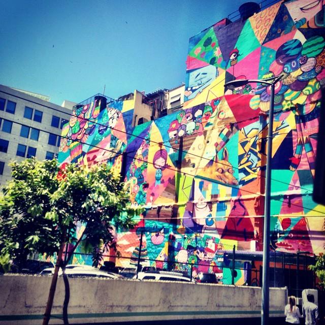 Wow! #supercool #streetart #rio ️
