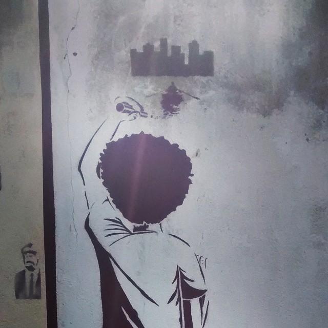 desenhando o futuro #streetart #streetartrio #art #riodejaneiro